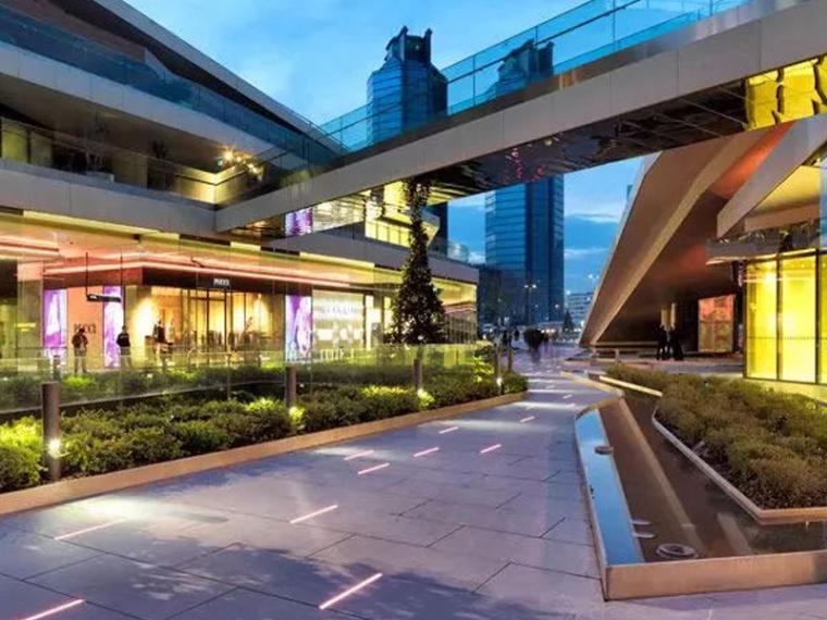 多种商业街景观设计