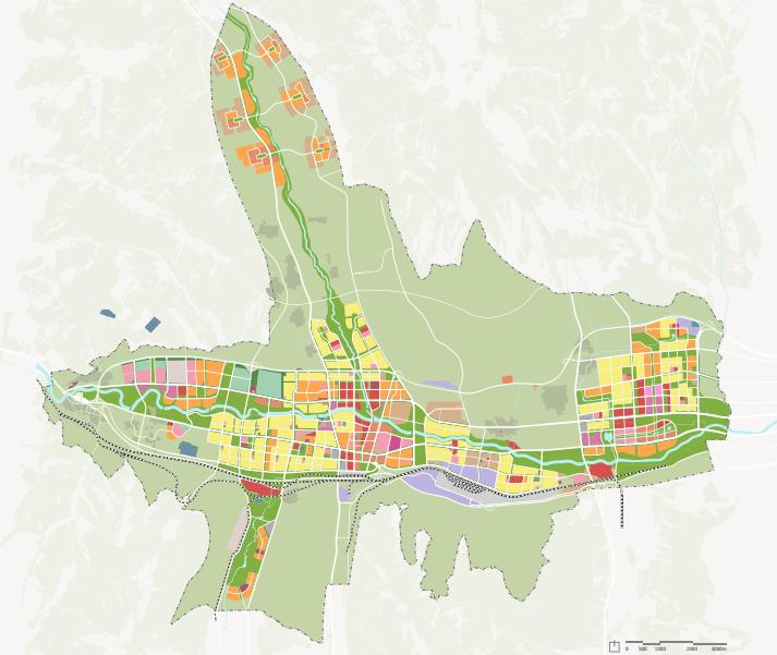 [青海]西宁多吧新城概念规划和总体城市设计(高原地貌)-[青海]西宁多吧知名地产概念规划和总体城市设计.C-3土地利用