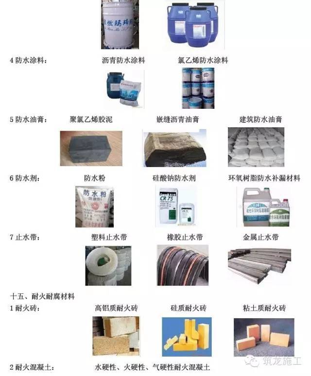 """常用建筑工程材料详细分类及高清图片,学完就能变身""""百科全书""""_13"""