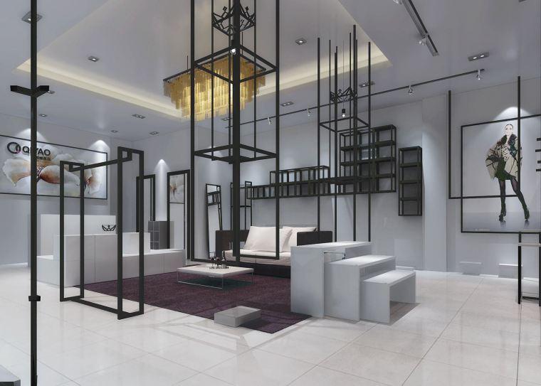 多元素组合装修设计,小型服装店铺也能行!