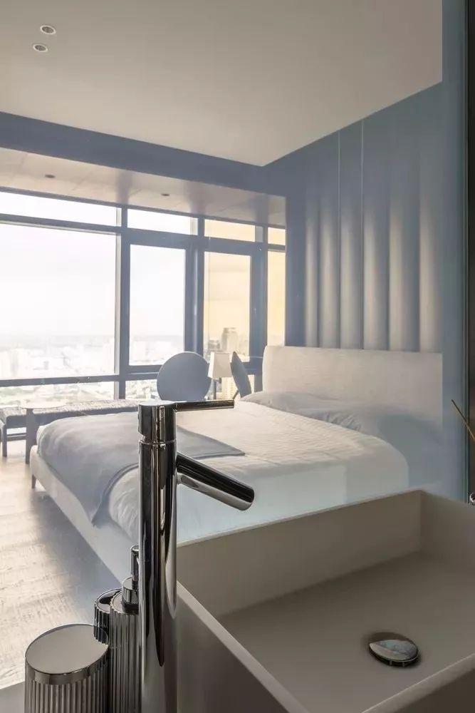 室内设计 130㎡的单身公寓,设计感十足_42