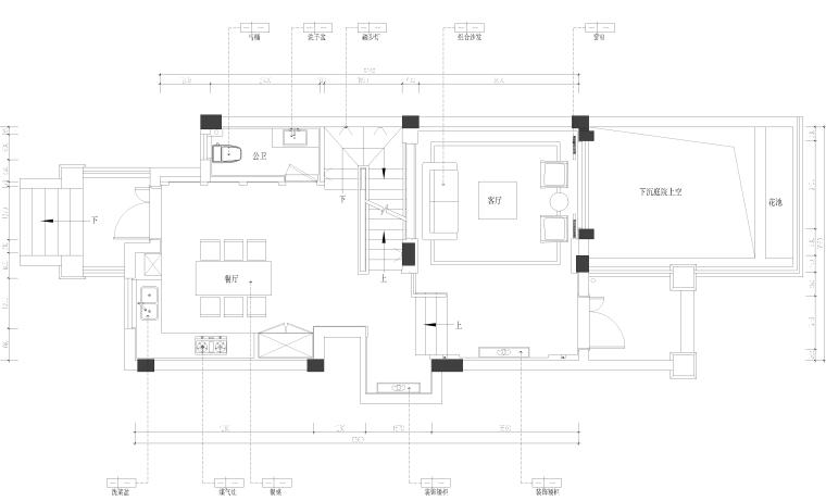 [湖南]中式风格五层别墅内部施工图设计(附3D模型+效果图)