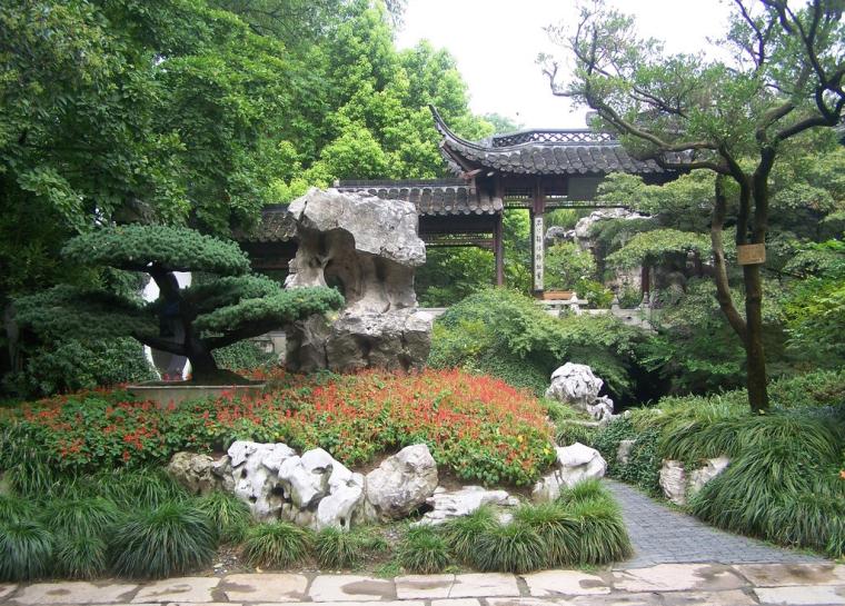 中式风格庭院