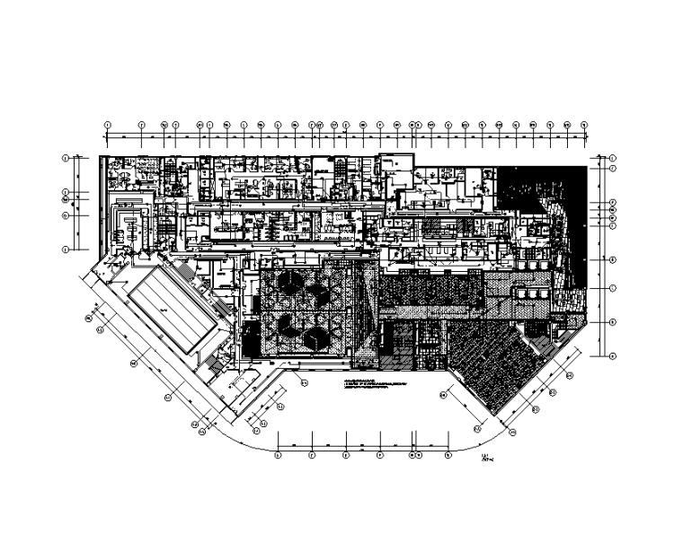 上海商场假日酒店强电施工图(含节能设计)CAD+PDF