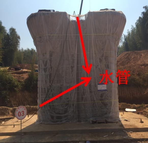 如何自制一个桥梁墩身自动喷淋养护系统?其实一点都不难