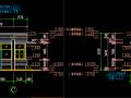 厂区大门建筑设计施工图纸