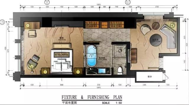室内设计必学技能:彩色平面图PS教程_68