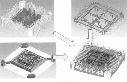 BIM技术在某大厦项目工程总承包管理中的应用