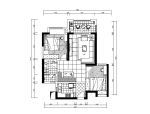 现代风格缤纷色彩样板房设计CAD施工图(含效果图、3D模型)