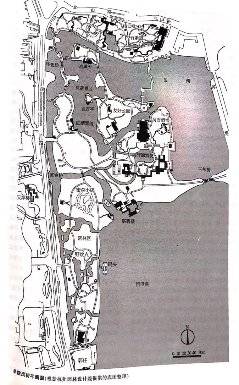 设计干货丨南方实习苏杭经典园林平面图_16