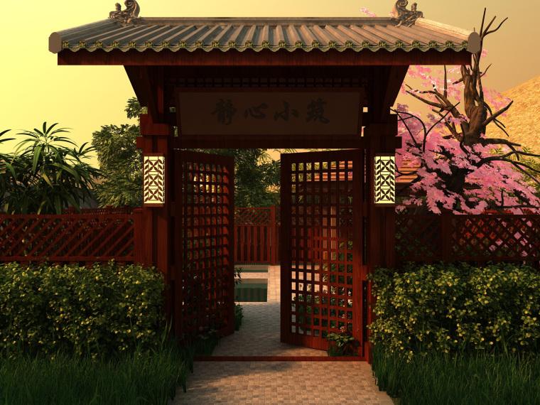 日式禅宗庭园结合禅宗美学设计案例——永福寺_5