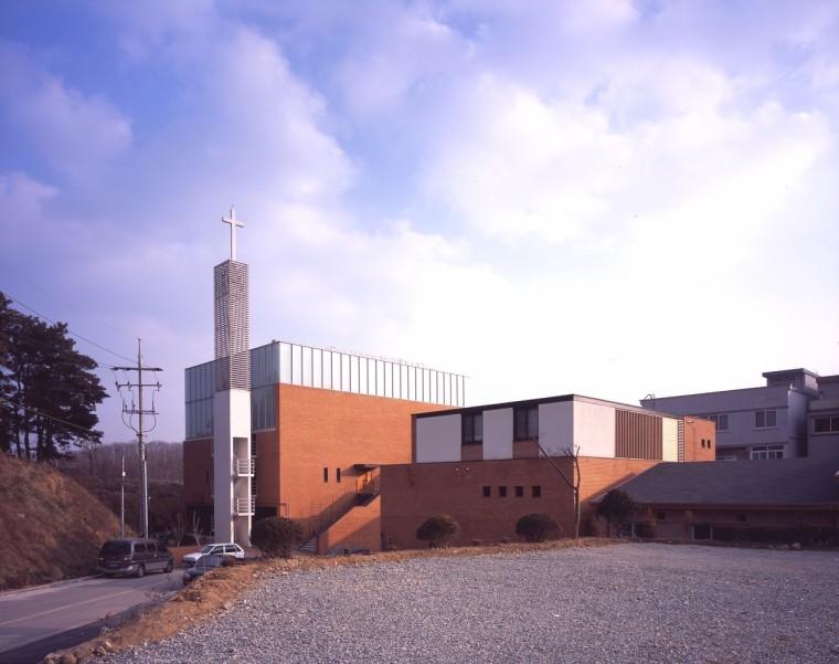韩国的一座新教堂