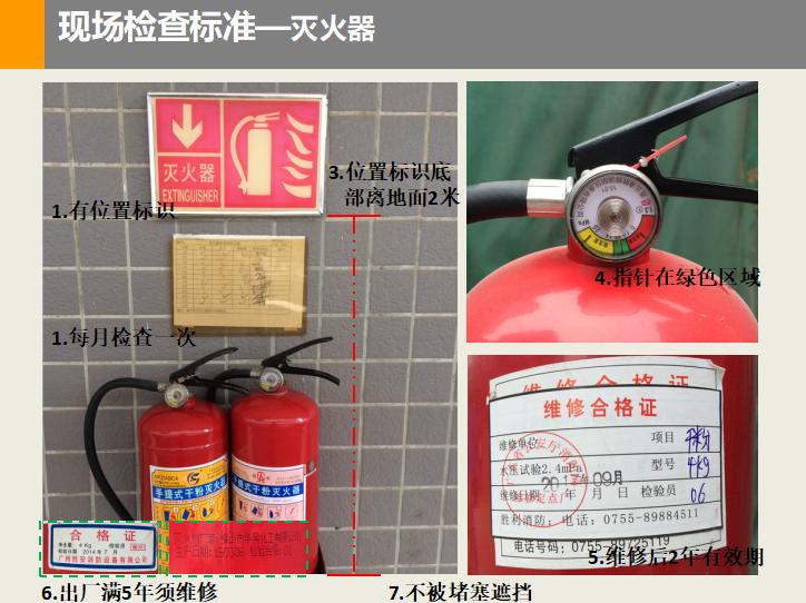 建筑施工消防安全检查标准范本