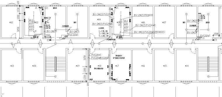 公寓楼电气改造工程图
