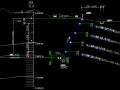 某岩土质边坡格构梁+预应力锚索(杆)+放坡支护工程施工图