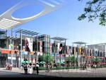 现代三层商业街全套施工图设计方案