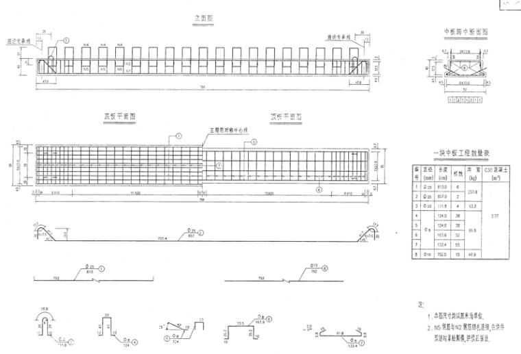 高速公路桥梁竣工图纸(共903页)_5