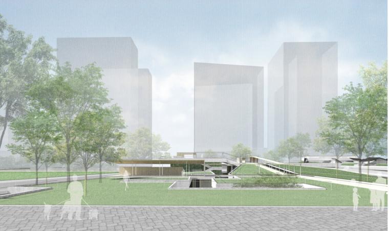 [深圳]单层万科小清新风格住宅及公建用地规划建筑设计方案文本
