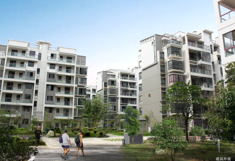 [广西]桂北某现代典雅居住区规划设计