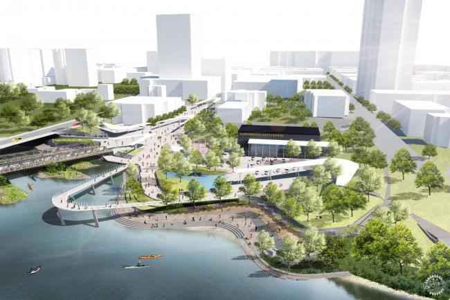 3rdSkin建筑事务所Haghani人行天桥设计方案