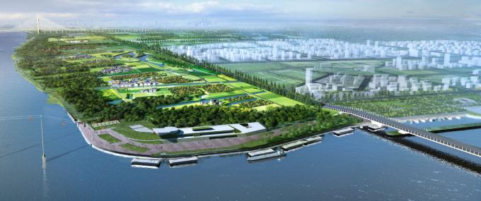 [上海]秋景主题滨水森林型郊野公园景观规划设计方案