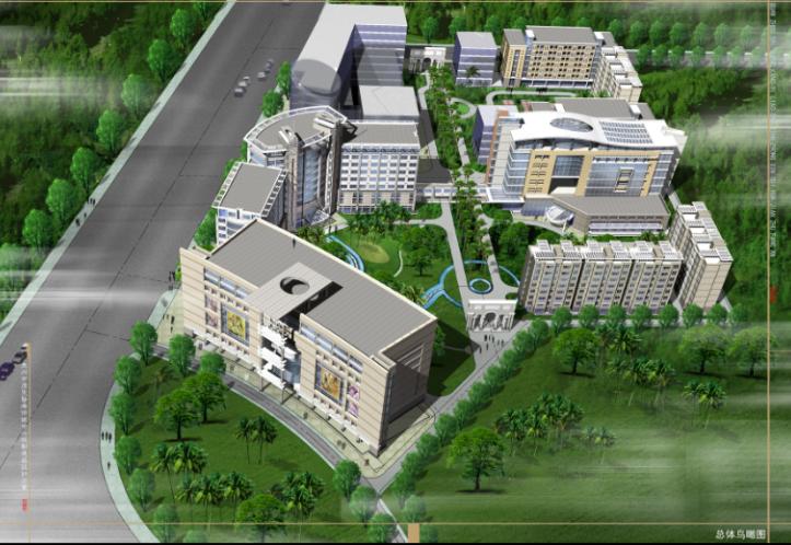泉州市康盛医疗保健中心规划建筑设计方案(45张)