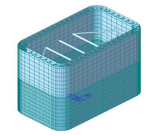 钢围堰分析midasCivil施工专题培训课件(含CAD、模型)