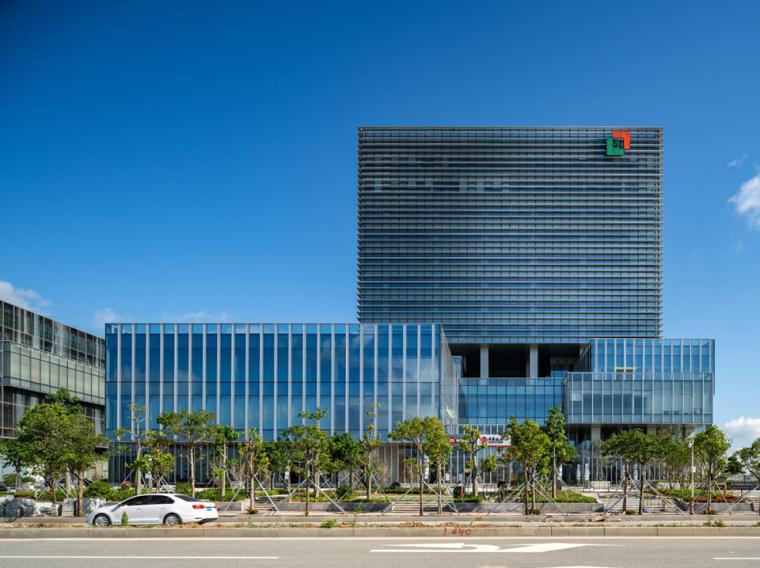 珠海天圆地方概念的医药科技产业园总部大楼-5