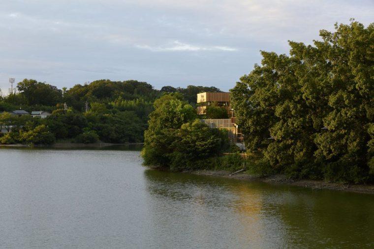 日本的全景别墅
