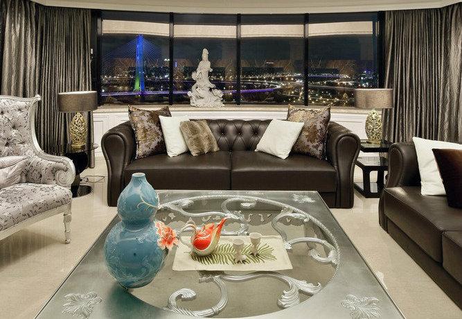 660平方米中西融合混搭客厅装修效果图