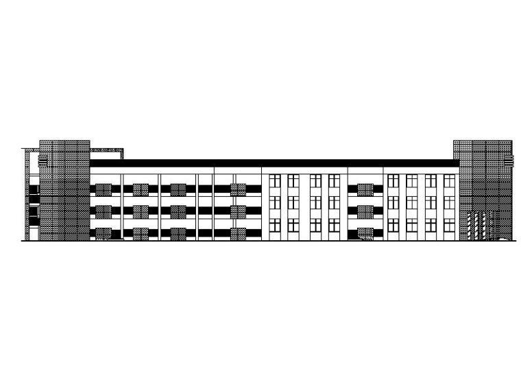 [浙江]三层框架剪力墙结构幼儿园塑铝板幕墙施工图(含计算书)