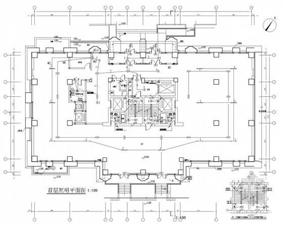 [北京]公共建筑群全套强弱电施工图240张(新火规 甲级设计院 多建筑)