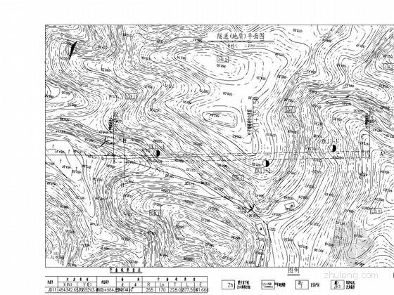 单洞双向公路隧道施工图42张(新奥法 含机电)