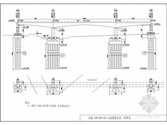 跨公路(60+100+60)m连续梁悬灌法施工方案117页附CAD(菱形挂篮)