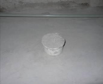建筑施工屋面工程细部节点工艺-保温隔热工程-管根固定