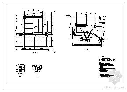 某3跑楼梯详图