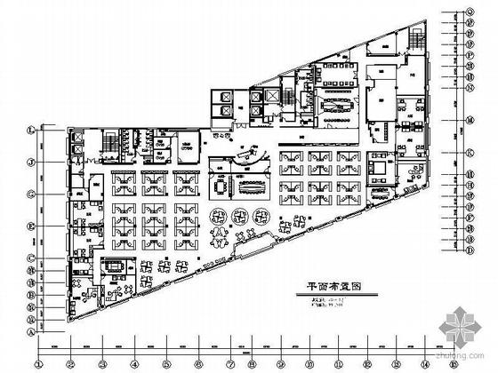 [上海]某办公空间装修设计图