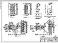 天津某污水处理厂粗格栅间及进水泵房结构图