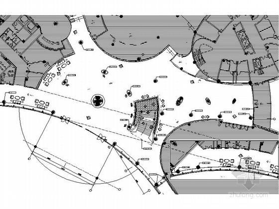 [福建]精装酒店大堂入口中心室内装修图