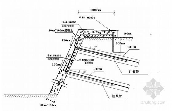 [黑龙江]高层公寓楼基坑边坡土钉墙支护施工方案