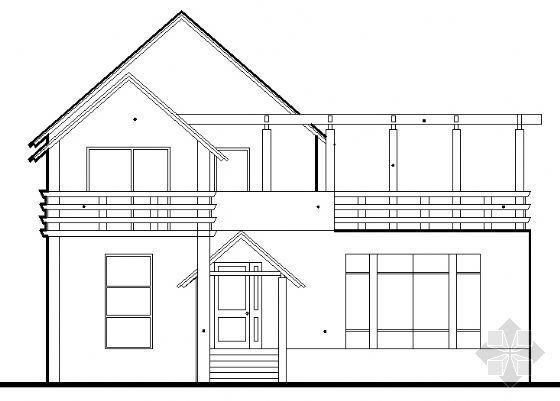 某二层别墅建筑设计施工图