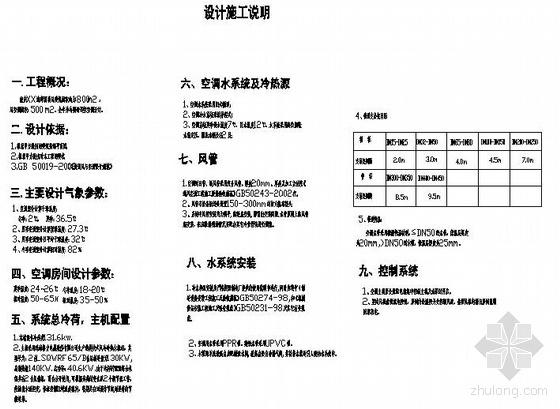 重庆某海鲜酒楼中央空调设计方案图