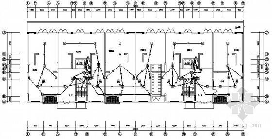 小区十八层住宅楼完整电气施工图纸
