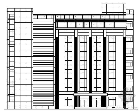 某七层综合楼建筑设计方案图