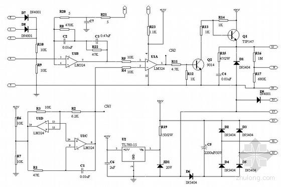 电焊机原理图