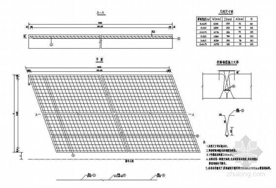 先张法简支空心板桥面铺装钢筋构造节点详图设计