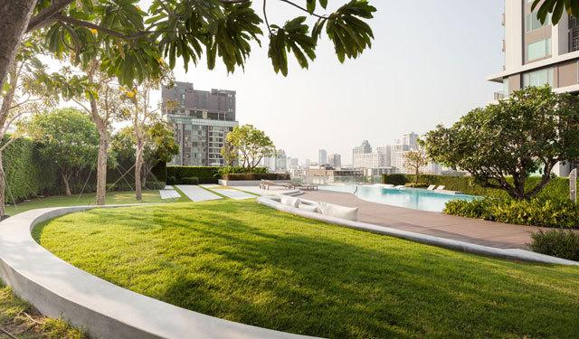 泰国Ceil公寓住宅景观设计_8