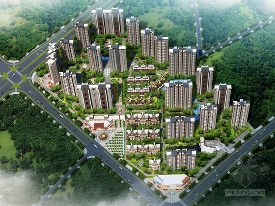 [江西]现代古典风格住宅区规划及单体建筑设计方案文本