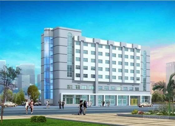 [毕业设计]河南框架结构办公楼工程预算书(含全套施工图纸)