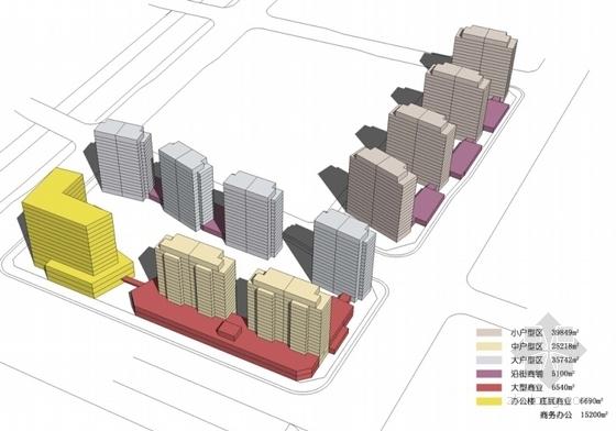 artdeco风格住宅安置小区分析图